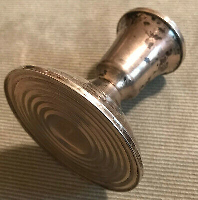 Vintage Duchin Creation Sterling Silver (925) Weighted Candle Holder