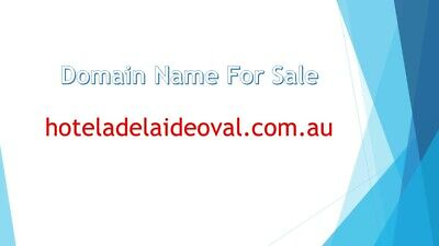 Domain Name For Sale hoteladelaideoval.com.au
