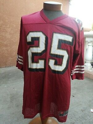 New VINTAGE NIKE SAN Francisco 49ers Charlie Garner # 25 Jersey Mens  hot sale