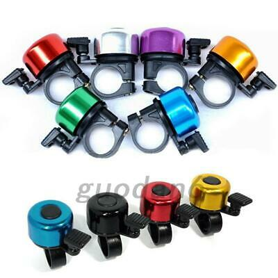 Bike Bicycle Handlebar Bell Metal Loud Horn Ring Safety Sound Alarm 6 Colors UK