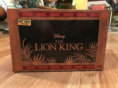 Funko Disney Treasures The Lion King Box Hot Topic Exclusive