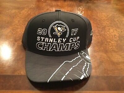 6b469290d PITTSBURGH PENGUINs 2017 Stanley Cup Championship Locker Room hat / cap