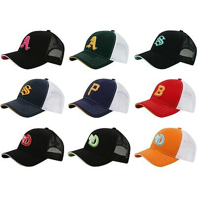 655c729e3a23f5 M78-S Unisex Various Embroidered Major Baseball Cool Mesh Hat Truckers Ball  Cap