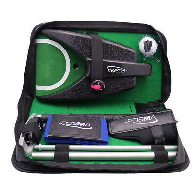 Posma GSP010A All-in-1 Golf Putting Training Executive Gift Set Training Putter