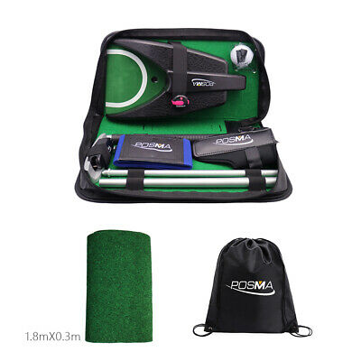 Posma GSP010B All-in-1 Golf Putting Training Executive Gift Set Training Putter