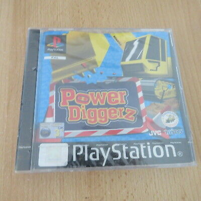 Power Diggerz Sony PlayStation 1, pal version New & sealed ps1