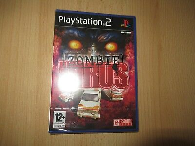 Zombie Virus - PlayStation 2 PS2 - New & Sealed pal version