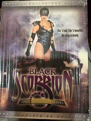 Rare Oop Black Scorpion Collector Edition Complete Series 22 Episodes Tv Dvd