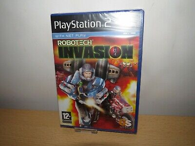 Robotech: Invasion (Sony PlayStation 2,ps2 new sealed pal version