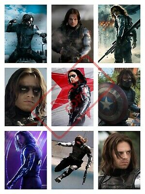 WINTER SOLDIER AVENGERS MOVIE Poster Collage Art - VARIOUS SIZE OPTIONS