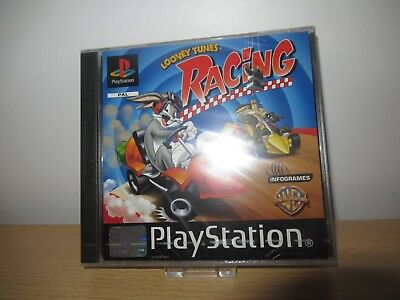 Looney Tunes Racing Sony PlayStation 1 ps1 new factory sealed PAL
