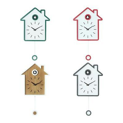 Simple Modern Cuckoo Wall Clock Swing Alarm Watch Wall Hanging Clock Home Decor