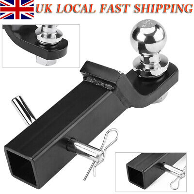 """2"""" Class III Loaded Ball Mount Hitch Receiver Trailer For Pickup Truck SUV New"""