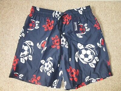 9399ba4a37 Vilebrequin Moorea Navy Blue Turtles Swim Shorts Trunks M Medium New Tags  BNWT