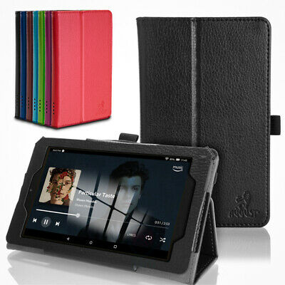 August® Smart Case for Amazon Fire 7 Tablet (9th Generation 2019 release)