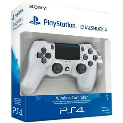 Sony Playstation PS4 DualShock 4 V2 Wireless Controller - (Glacier White) Sale!