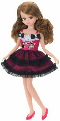 Takara [Licca Doll Dress Clothes] LW-01 Lovely Girl DRESS + SHOES set 1/6 9in