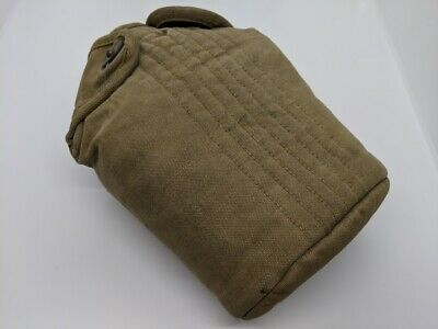 Original Vintage WWII WW2 US Military Canteen and Cover