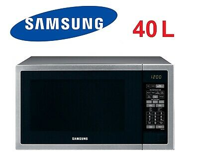 Samsung 40L Stainless Steel Microwave Enamel Interior ME6144ST