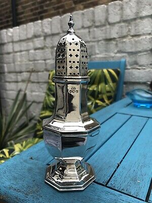 Edward Viner Sterling Silver Sugar Caster