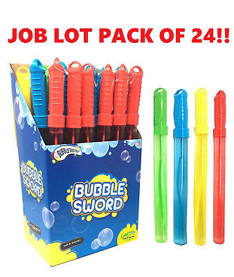MARKET JOBLOT CLEARANCE 24 x Toy Outdoor Kids Huge Fun Family Wand Giant Bubbles