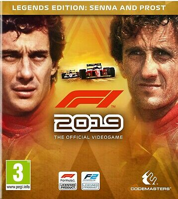 F1 2019 PC - Gioco Italiano Originale - Legendary Edition 19 Formula Uno