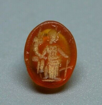 Ancient Carnelian intaglio of Fortuna
