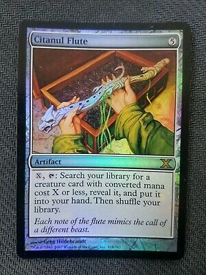 Citanul Flute 10th Edition NM Artifact Rare MAGIC THE GATHERING CARD ABUGames
