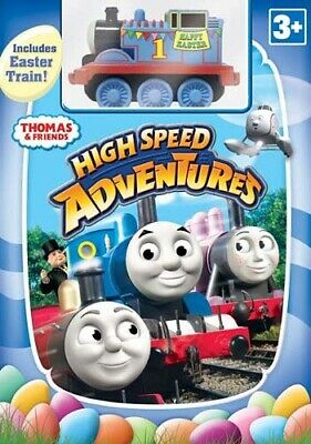 Thomas And Friends: High Speed Adventures (With Easter Toy Train) (Boxset) (Dvd)