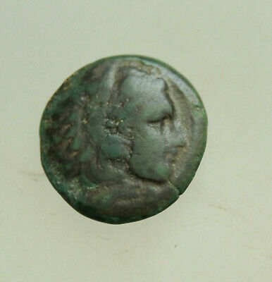 "Kings of Macedon. Alexander III ""the Great"" 336-323 BC,AE18mm Heracles Bow"
