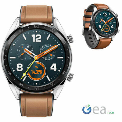 Huawei Watch GT B19V Orologio Android SmartWatch con Display AMOLED Brown