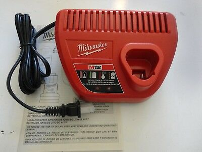 MILWAUKEE 48-59-2401 M12 12 Volt Lithium Ion Charger for Use with 48-11-2401