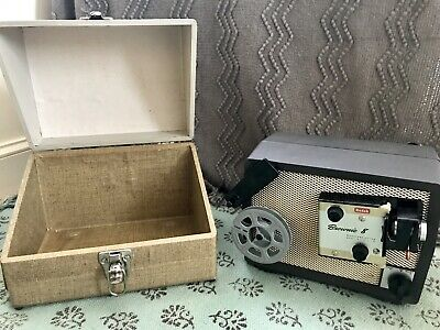 Antique Vintage Kodak Brownie 8 Projector 8Mm Model A15 F/1.6 With Case Works!