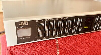 Free Shipping! JVC SEA-33 S.E.A. Graphic Equalizer Working Condition