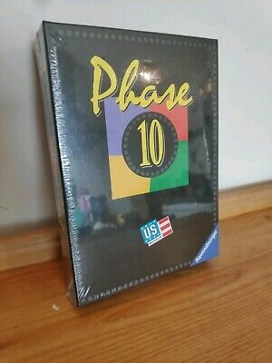Mattel Phase 10 Card Game  Family Exciting 6 Players Portable Travel Game Sealed