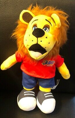 "Rory The Lion 10"" Plush Soft Toy From Drayton Manor Theme Park"