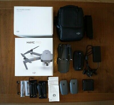 DJI Mavic Pro Fly More Combo 4K Camera Drone. Immaculate condition