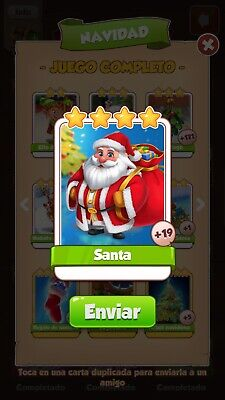 Coin Master Cards Santa Fast Delivery