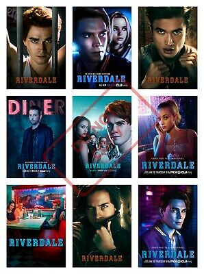 RIVERDALE TV Poster Collage Art - VARIOUS SIZE OPTIONS - KJ APA COLE SPROUSE