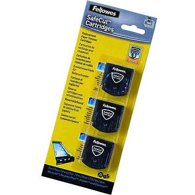 Fellowes Safecut Replacement Blades - 3 Styles