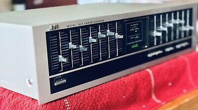 Working Classic JVC SEA-40 7 Band Graphic Equalizer EQ