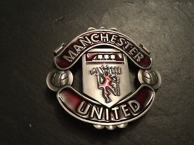 MANCHESTER UNITED FOOTBALL CLUB New BELT BUCKLE English Premier League Soccer