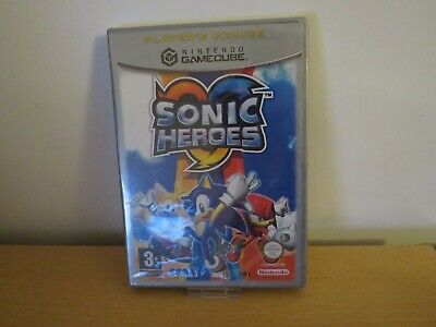 Nintendo GameCube Sonic Heroes New Sealed pal