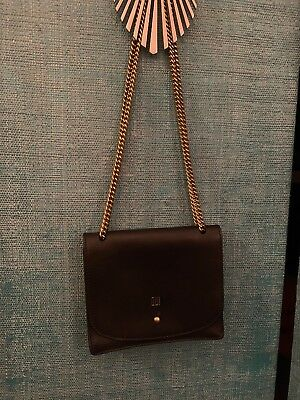 5e64b39ca Madewell New! Sold Out! Rare The Chain Crossbody Bag Black OUI French $128
