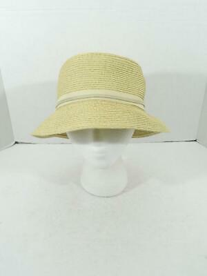 f5084f251acfd7 Nine West Women's Light Tan Packable Microbrim Hat NWT One Size MSRP $34 A2
