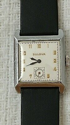 Vintage Bulova Art Deco Swiss Made Watch