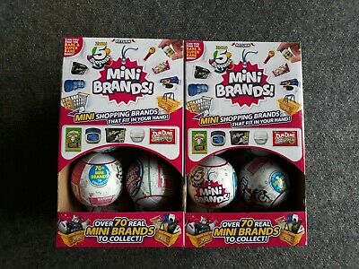 5 Surprise Mini Brands Full Case Box Of 12 Balls Made By Zuru