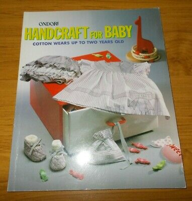 Ondori~Handcraft For Baby~For Up To 2 Years Old~Toys~Dress~Pattern Draftind~1984