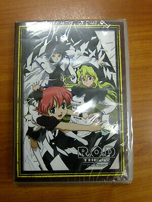 R.O.D. (Read or Die) The TV - Complete 1-26 Anime Series Collection ENGLISH Dub