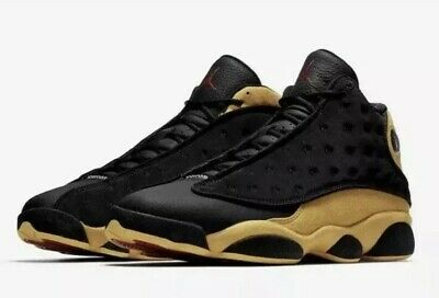 new styles 582d5 fdd6d NIKE AIR JORDAN 13 Retro Men Sz 9 Melo Class of 2002 414571 035 Black Yellow